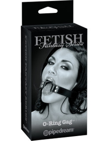 FETISH FANTASY LIMITED EDITION O RING GAG