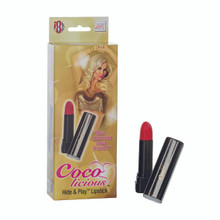 COCO LICIOUS HIDE & PLAY LIPSTICK BLACK