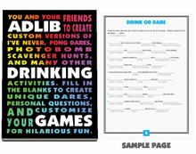 ADLIB DRINKING GAMES