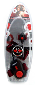 H2H VIBE WRIST TO FINGER BLACK RED
