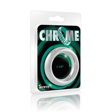 CHROME DONUT RING 1.5IN