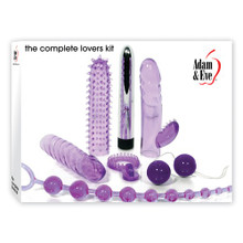 ADAM & EVE COMPLETE LOVERS KIT PURPLE
