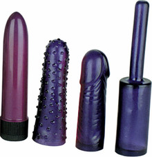 ANAL TEASER MINI KIT-PURPLE