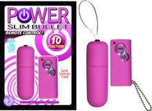 POWER SLIM BULLET REMOTE CONTROL PINK