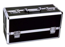 LOCKABLE VIBRATOR CASE BLACK LARGE