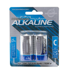 DOC JOHNSON C BATTERIES 2 PACK AKALINE CD