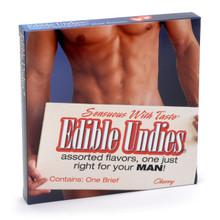EDIBLE UNDIES MALE-CHERRY