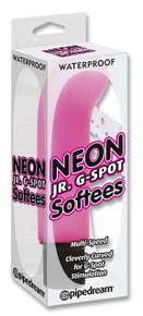 NEON JR G SPOT SOFTEES PINK