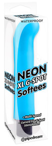 NEON LUV TOUCH XL G SPOT SOFTEES BLUE