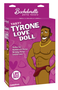 BACHELORETTE PARTY FAVORS TASTY TYRONE LOVE DOLL