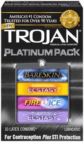 TROJAN PLATINUM 10 PACK