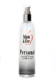 ADAM & EVE PERSONAL WATER BASED LUBE 8 OZ