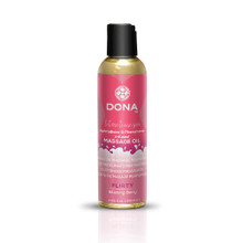 DONA MASSAGE OIL FLIRTY BLUSHING BERRY 3.75 OZ