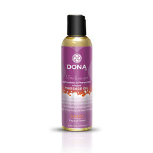 DONA MASSAGE OIL SASSY TROPICAL TEASE 3.75 OZ