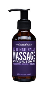 BODY & MASSAGE OIL SANDLEWOOD & CINNAMON 4OZ
