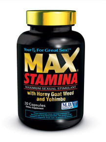 MAX STAMINA 30PC BOTTLE CLAMSHELL