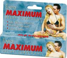 EXTRA MAXIMUM DELAY LUBE LARGE 1.5OZ