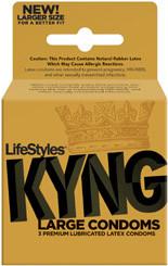 LIFESTYLES KYNG 3 PACK
