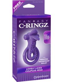 FANTASY C-RINGZ LOVELY LICKS COUPLES RING