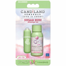 CANDILAND SUGAR BUZZ MASSAGE SET WATERMELON ROCK CANDY