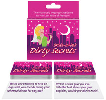 BRIDE TO BE'S DIRTY SECRETS