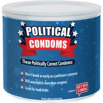 POLITICAL CONDOM ASSORTED 40PC