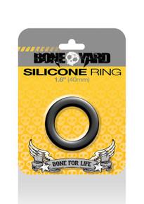 BONEYARD SILICONE RING 40MM BLACK