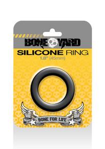 BONEYARD SILICONE RING 45MM BLACK