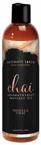 INTIMATE EARTH CHAI MASSAGE OIL 8 OZ