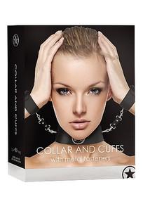 COLLAR W/CUFFS BLACK