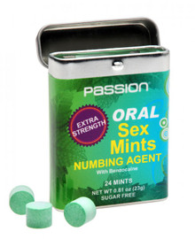 PASSION DEEP THROAT ORAL SEX MINTS