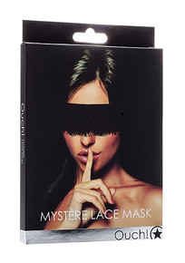 MYSTERE LACE MASK BLACK
