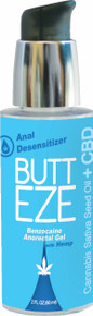 BUTT EZE ANAL DESENSITIZER W/HEMP SEED OIL 2 OZ