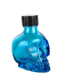 BODY GLITTER BLUE SKULL