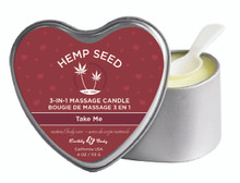 CANDLE 3 N 1 HEART TAKE ME 4.7 OZ