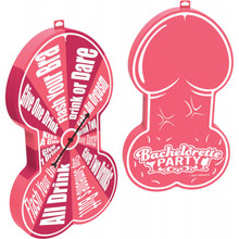 BACHELORETTE PECKER FOAM SPINNER