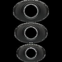 OPTIMALE EASY GRIP C RING SET BLACK