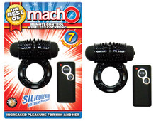 BEST OF MACHO REMOTE CONTROL WIRELESS COCKRING BLACK
