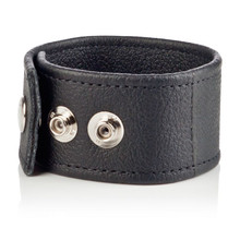 COLT DOUBLE WIDE LEATHER STRAP