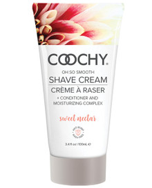COOCHY SHAVE CREAM SWEET NECTAR 3.4 OZ