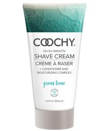 COOCHY SHAVE CREAM GREEN TEASE 3.4 OZ