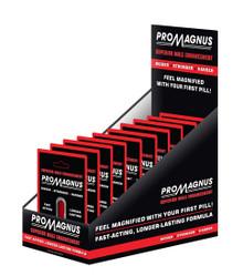 PROMAGNUS SUPERIOR MALE ENHANCEMENT PILLS 12 PC DISPLAY