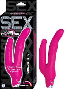 SEX DOUBLE PENETRATOR PINK