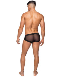 MICRO MINI HOSE SHORT BLACK LARGE