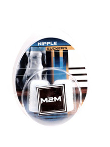 NIPPLE SUCKERS SILICONE LARGE CLEAR