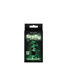FIREFLY GLASS PLUG SMALL CLEAR