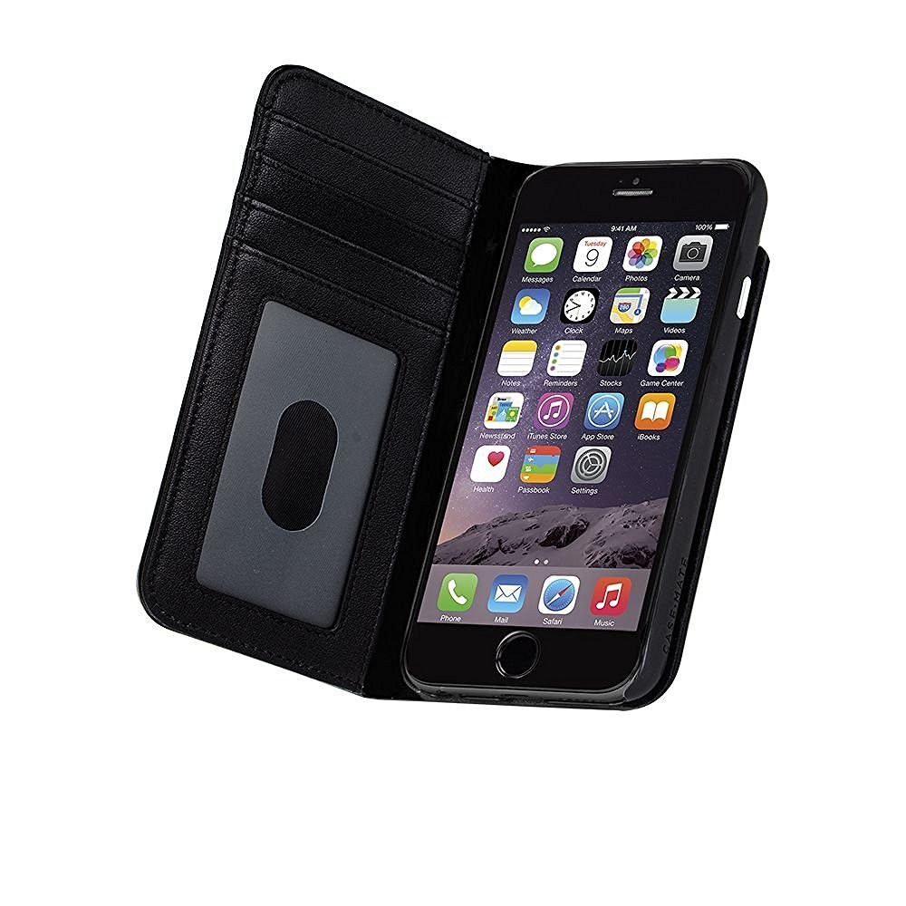 trade in iphone casemate wallet folio iphone 7 plus 6s plus 6 plus black 1751