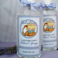 Foxhollow Herb Farm Lavender Linen and Pillow Spray