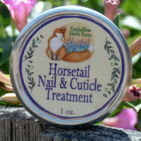 Foxhollow Herb Farm Horsetail Nail & Cuticle Treatment