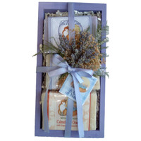 Foxhollow Herbs Soap Sampler Crate Gift Set